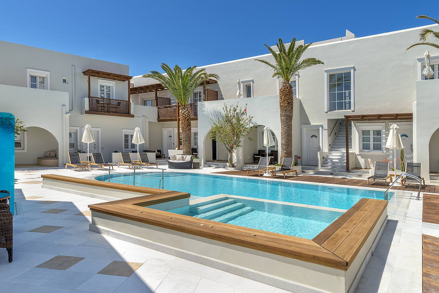 Minimalistic Luxury And Privileged Location On The Beach Of Saint George In Naxos Town Magnificent Hotel